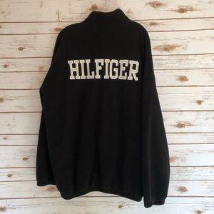 Tommy Hilfiger Shirts - VTG Tommy Hilfiger Quarter Zip Fleece Pullover